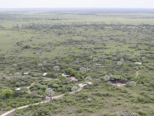 Camp Kalahari - Bird View