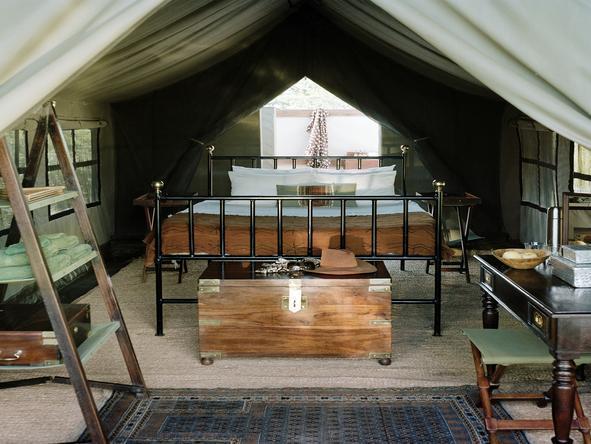 Camp Kalahari - Tent1