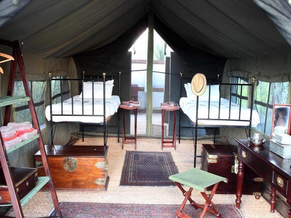 Camp Kalahari - Tent2