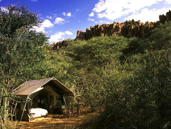 Chobe Under Canvas - tent exterior