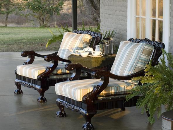 Kirkman's Kamp - outdoor patio armchairs