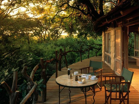 Lake Manyara Tree Lodge - Private Deck