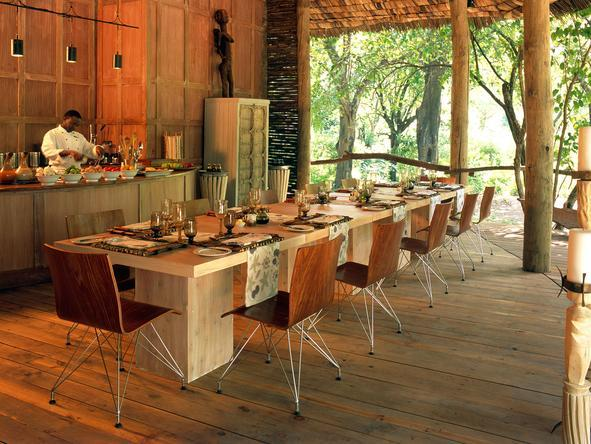 Lake Manyara Tree Lodge - Dining