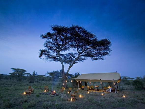 Serengeti Under Canvas - Boma