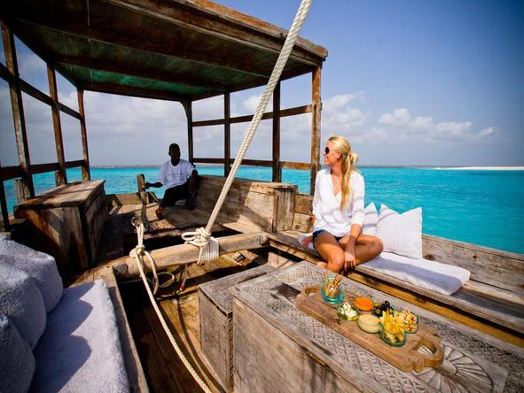 Mnemba Island Lodge - boat trip