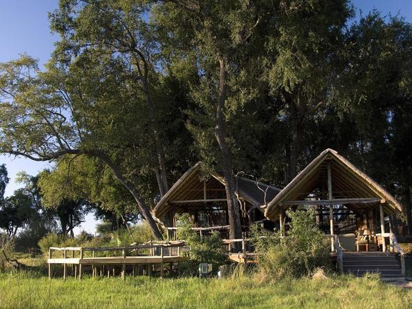 Duba Plains Camp - main camp