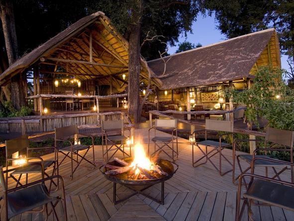 Duba Plains Camp - boma