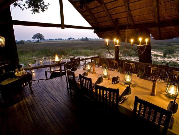 Duba Plains Camp - dining
