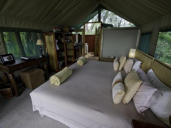 Jacana Camp - bedroom