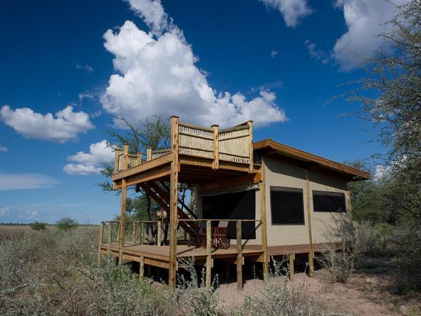 Kalahari Plains Camp - camp exterior 3