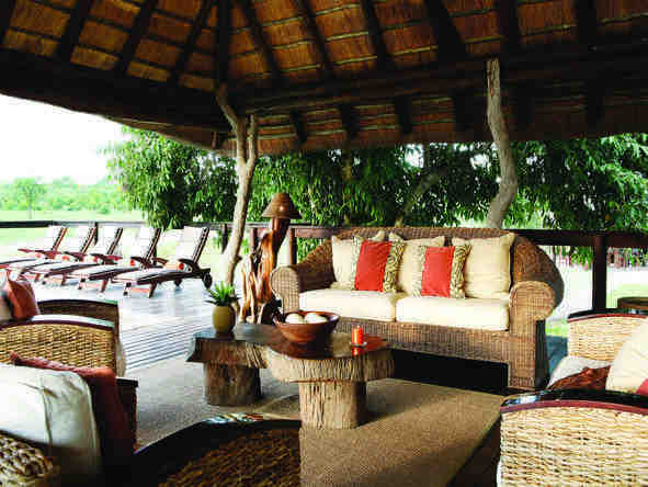 Arathusa Safari lodge - Lounge/Deck
