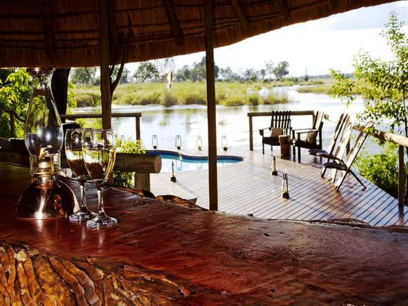 Kwando Lagoon Camp - Deck
