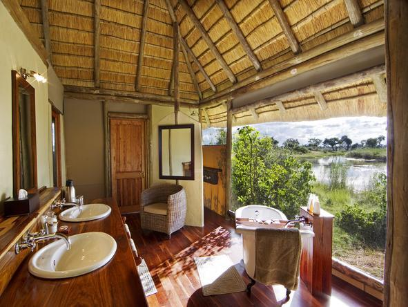 Kwando Lagoon Camp -Bathroom2