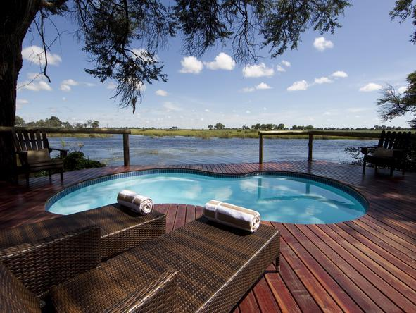 Kwando Lagoon Camp -Pool
