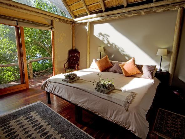 Kwando Lagoon Camp - Bedroom View