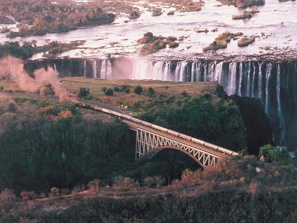 A Train Journey to Vic Falls