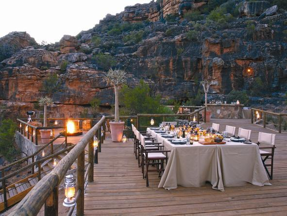Bushmans Kloof - Dining