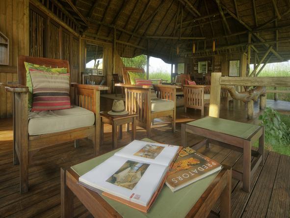 Kwando Lebala Camp- Lounge