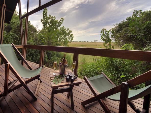 Kwando Lebala Camp- deck