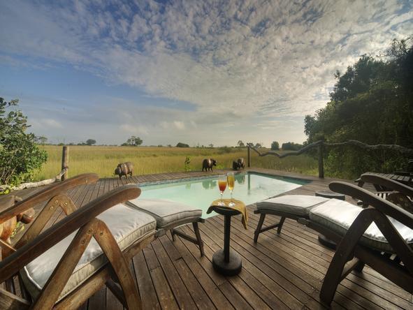 Kwando Lebala Camp - pool