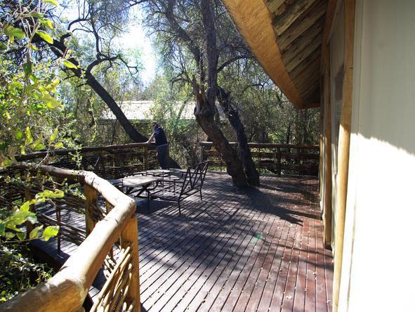 Thakadu River Camp - Deck