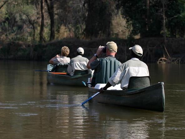 Three Sanctuaries Safari in Zambia