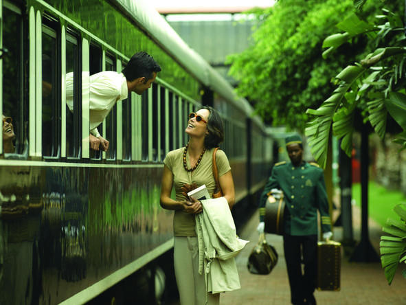 Luxury Rovos Rail, Cape Town & Singita Safari