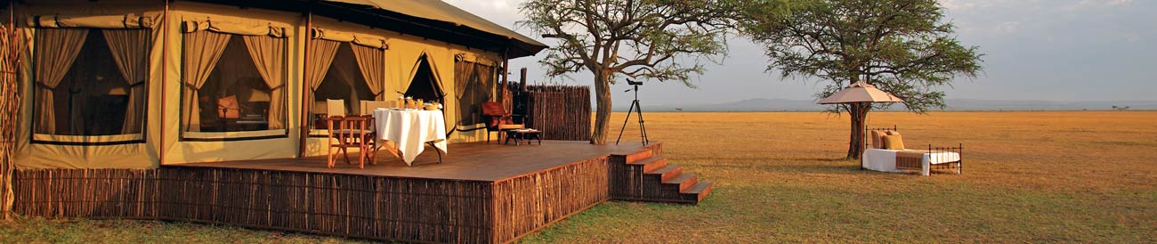Tanzania Luxury Safari - enjoy a safari the old fashioned way: decadent accommodation, sublime service & cuisine, all set against beautiful backdrops.