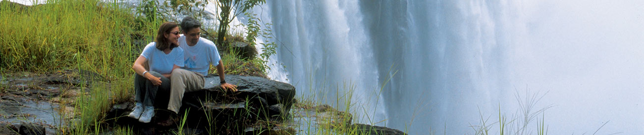 Victoria Falls Honeymoon - soak up the drama of Africa&#39;s iconic waterfall during your romantic adventure at Victoria Falls.