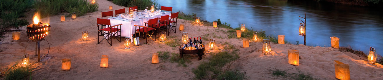 Kruger Park Luxury Safari - enjoy fine dining in the most gorgeous bush locations, exceptional guiding and incredible wildlife experience
