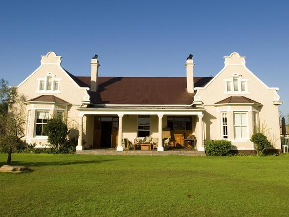 Kwandwe Uplands Homestead - Exterior View