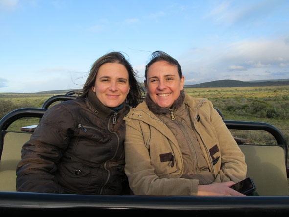 Anza Snyman - on safari in the Eastern Cape