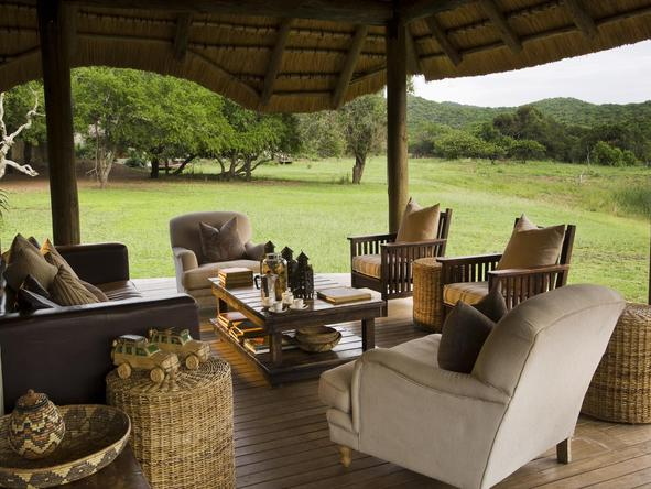 Phinda Zuka Lodge -Lounge