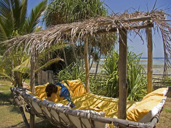 Alfajiri Beach Villa - Beach Lounge