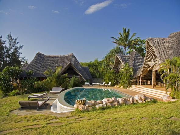 Alfajiri Beach Villa - Garden