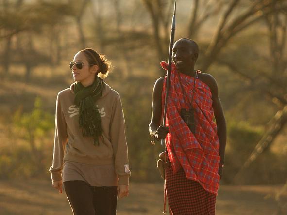 Ol Seki Hemingways Mara- walking safari
