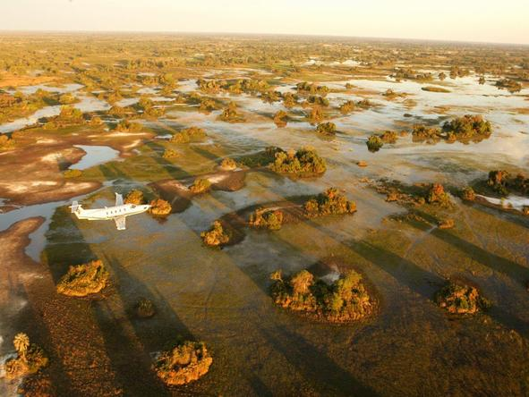 Discover the wide open spaces of the Okavango Delta in northern Botswana, with a fly-in safari