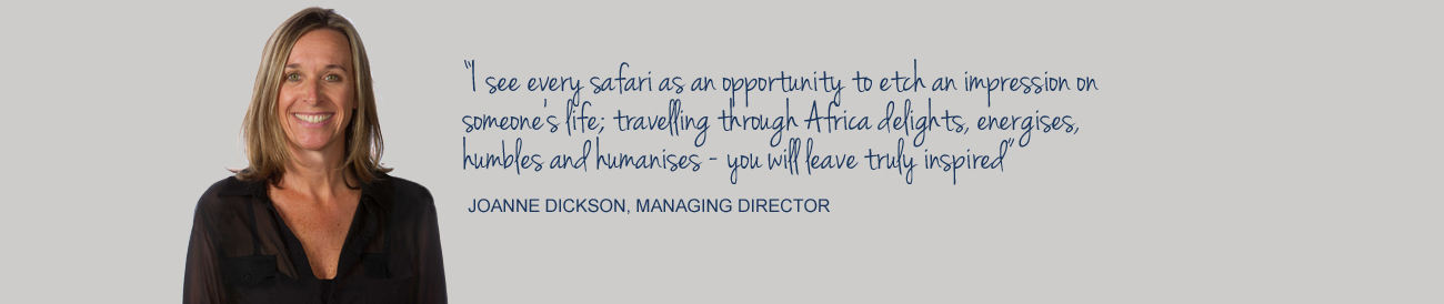 About Us - Joanne Dickson, Managing Director