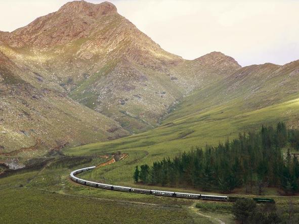 Epic Rail Journey across Africa