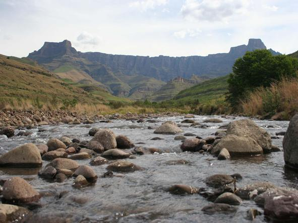 The mighty Drakensberg mountain range is the highest in South Africa and home to some rather spectacular hiking trails.