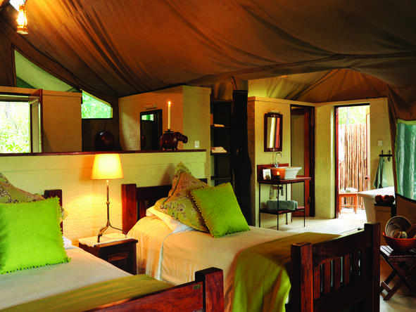 The Hide - luxury tented suite