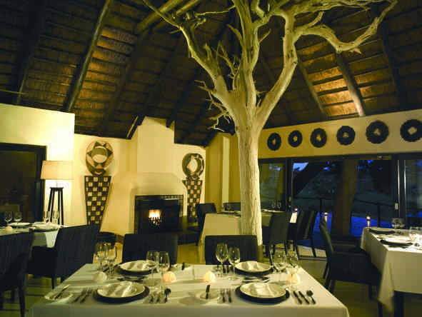 Lion Sands Ivory Lodge - Dining