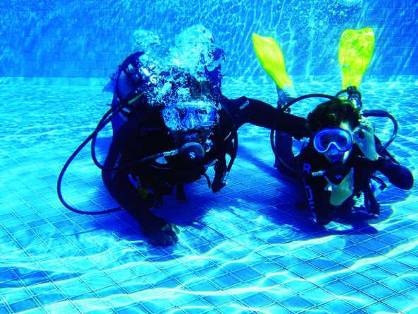 Belle Mare Plage - Diving