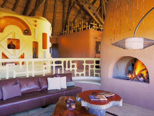 Okonjima Bush Camp - Lounge