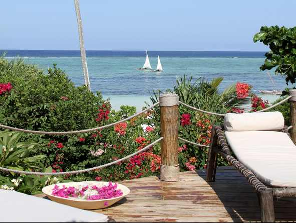 Matemwe Beach House - Deck2