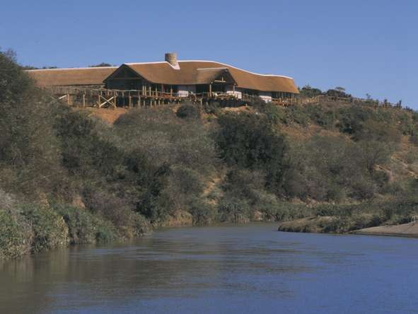 Kwandwe Great Fish River Lodge - exterior river view