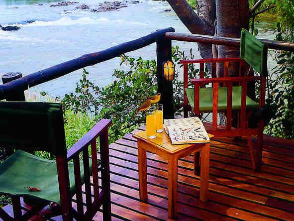 Impalila Island Lodge - Private Deck