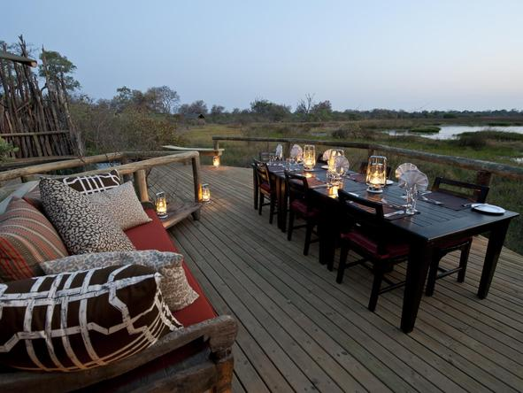 Banoka Bush Camp - Deck