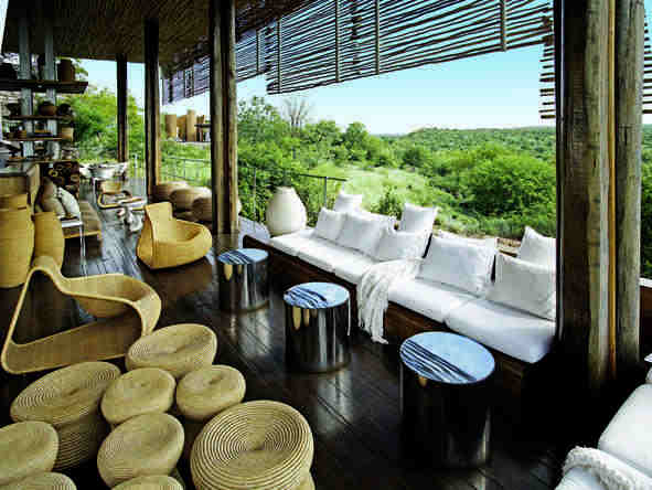Singita Lebombo Lodge - Lounge