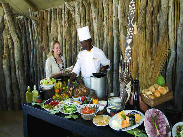 Savute Elephant Camp by Orient Express - Dining